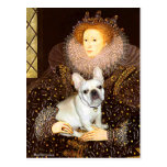 French Bulldog 3 - Queen Postcards