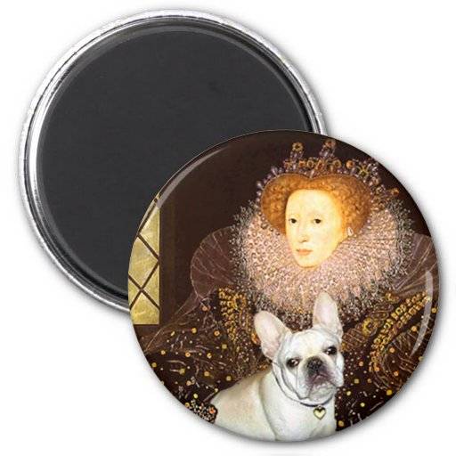 French Bulldog 3 - Queen Refrigerator Magnet