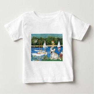 French Bulldog 3 - Sailboats Baby T-Shirt