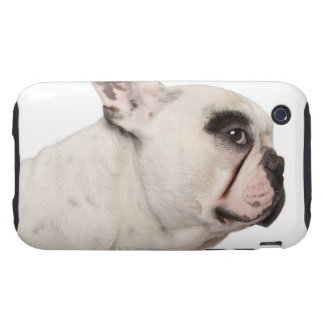 French Bulldog (4 years old) close-up Tough iPhone 3 Covers
