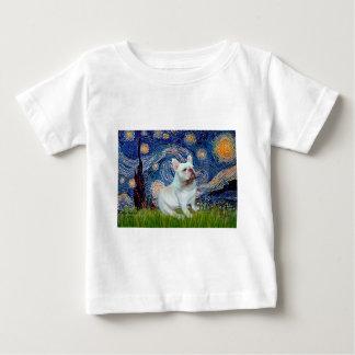 French Bulldog (4W) - Starry Night Baby T-Shirt