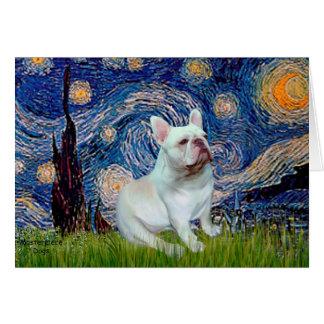 French Bulldog (4W) - Starry Night Card