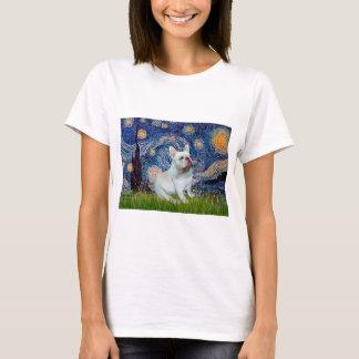 French Bulldog (4W) - Starry Night T-Shirt