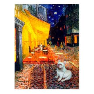 French Bulldog 4W - Terrace Cafe Post Card
