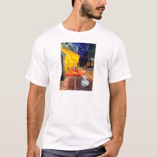 French Bulldog 4W - Terrace Cafe T-Shirt
