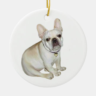 French Bulldog (A) Christmas Tree Ornament
