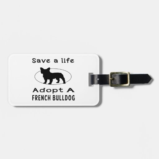 French Bulldog A.png Tags For Bags