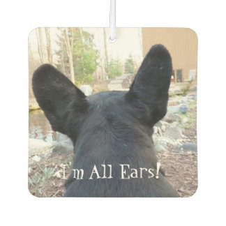 French Bulldog All Ears Air Freshener