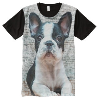 French Bulldog All-Over-Print Shirt