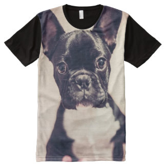 French Bulldog All-Over-Print T-Shirt
