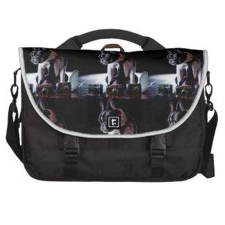 French Bulldog Amateur Photographer Dog Laptop Commuter Bag
