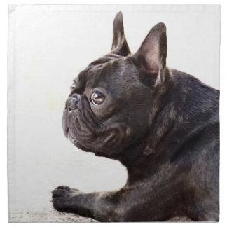 French bulldog American Mojo Printed Napkin