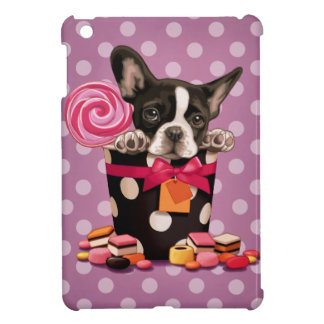 French bulldog and Candy iPad Mini Cases