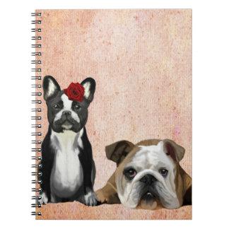 French Bulldog and English Bulldog Notebook