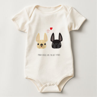 French Bulldog Arel Baby Bodysuit