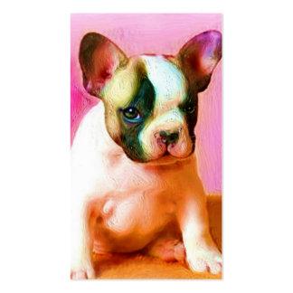 French Bulldog Art business cards