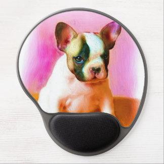 French Bulldog Art Gel Mouse Mats