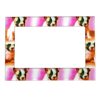 French Bulldog Art Magnetic Picture Frames