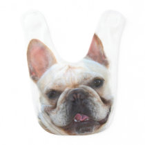 French Bulldog Baby Bib