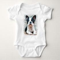 French Bulldog  baby T-shirt