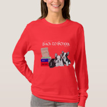 French Bulldog Back to School T-Shirt