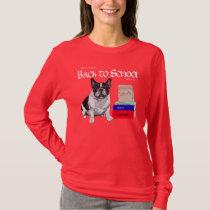 French Bulldog Back to School T-Shirt