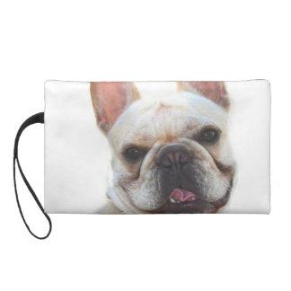 French Bulldog Wristlet Clutches