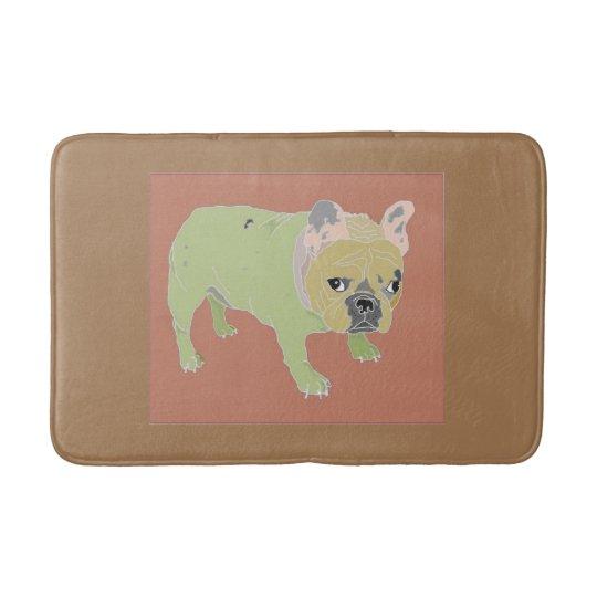 French Bulldog,bath Mat