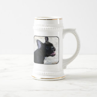 French Bulldog beer stein Mugs