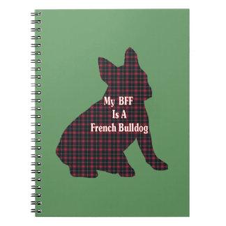 French Bulldog BFF Spiral Note Book