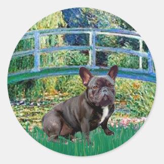 French Bulldog (blk-10) - Bridge Stickers