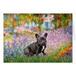 French Bulldog (br10) - Garden Card