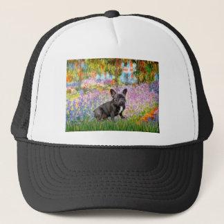 French Bulldog (br10) - Garden Trucker Hat