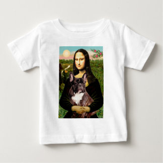 French Bulldog (br10) - Mona Lisa Baby T-Shirt
