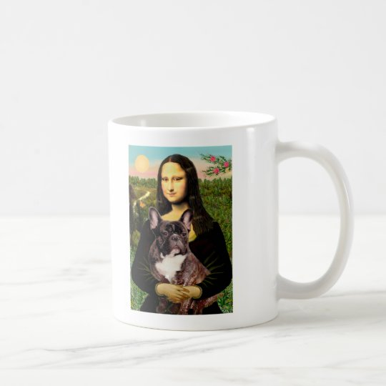 French Bulldog (br10) - Mona Lisa Coffee Mug