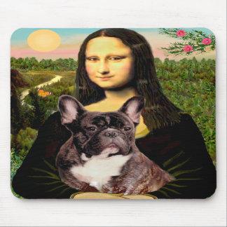 French Bulldog (br10) - Mona Lisa Mouse Mat