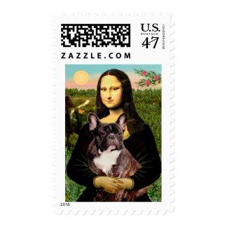 French Bulldog (br10) - Mona Lisa Postage
