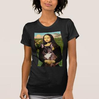 French Bulldog (br10) - Mona Lisa T-Shirt