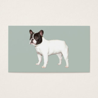French Bulldog Breeder Business Card