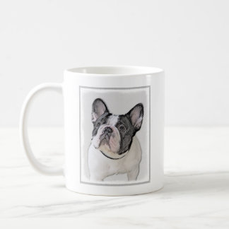 French Bulldog (Brindle Pied) Coffee Mug