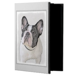 French Bulldog (Brindle Pied) Painting - Dog Art Powis iPad Air 2 Case
