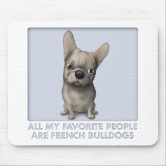 French Bulldog (Buff) Favorite Mouse Pad