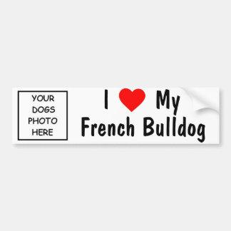 French Bulldog Car Bumper Sticker