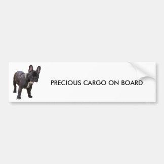 French Bulldog bumper sticker, gift idea Bumper Sticker