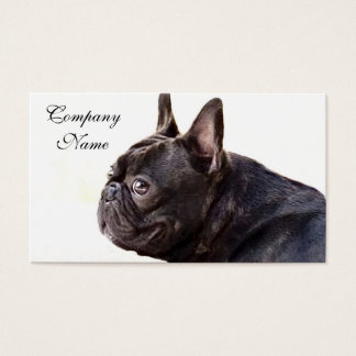 French Bulldog Business Card