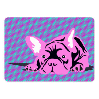 French Bulldog Businesscards Large Business Cards (Pack Of 100)