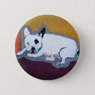 French Bulldog Button