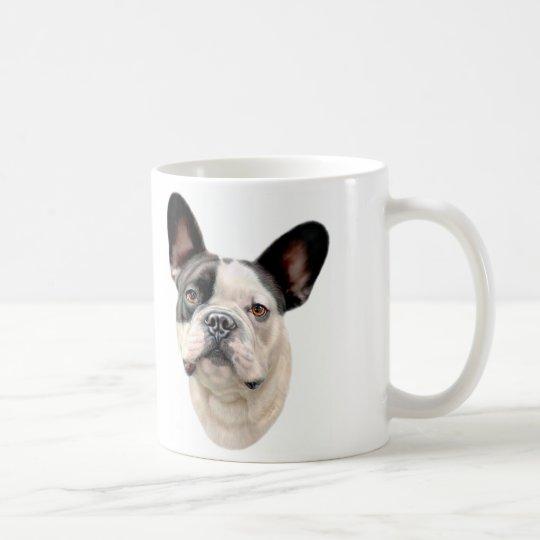 French Bulldog BW Bust Coffee Mug