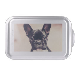French bulldog cake pan