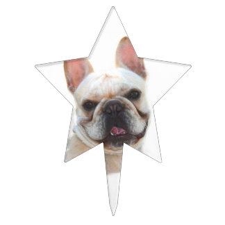 French Bulldog Cake Toppers